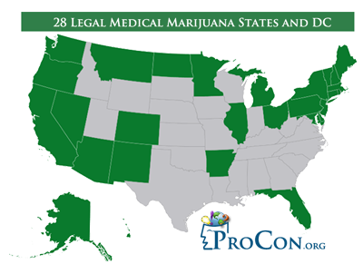 medical marijuana insurance by state